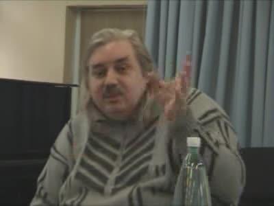 Встреча со студентами на тему «Происхождение жизни», Москва 06.11.2007 г.