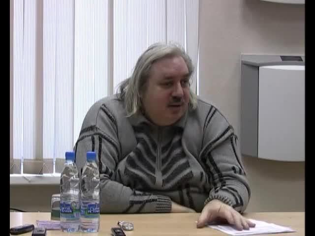 Встреча с активом Движения. Москва, 20 декабря 2008 г.