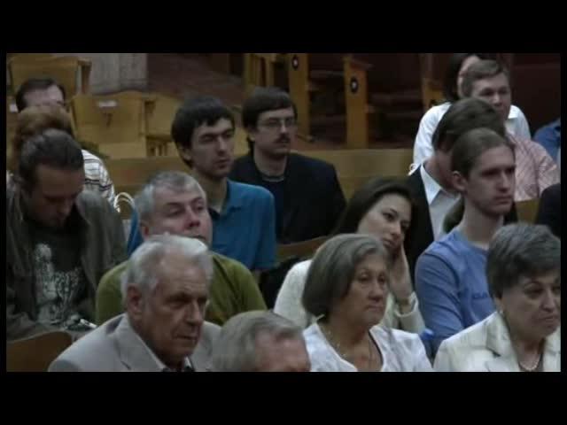 Встреча с участниками Движения «Возрождение. Золотой Век». Москва, 8 августа 2009 г.